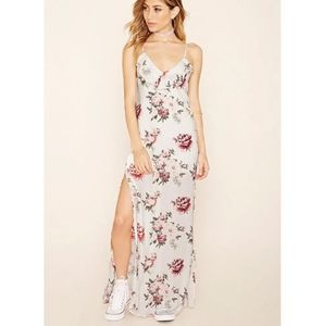 Forever21 Long Maxi Floral Dress New